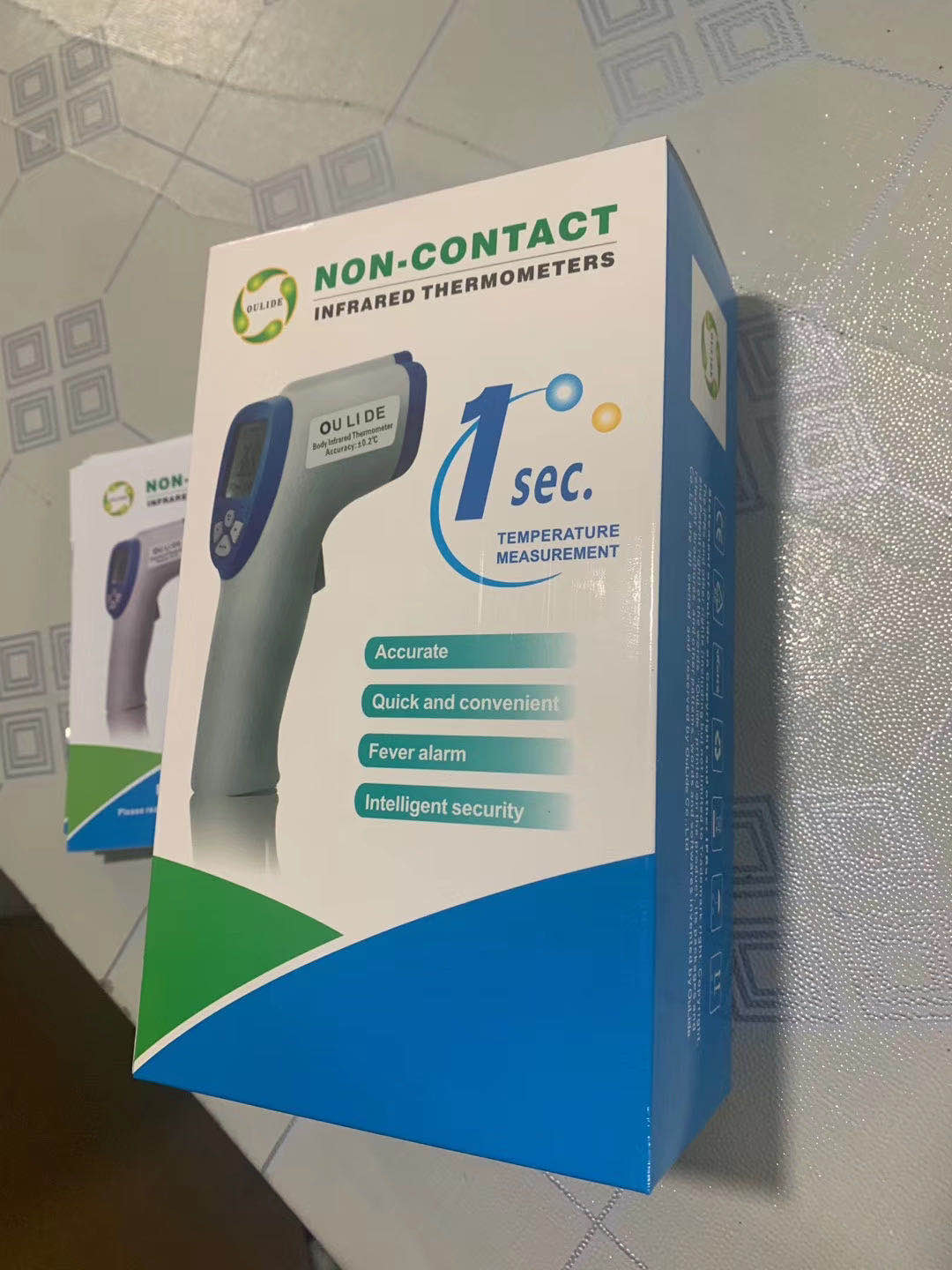 Non-Contact infrared thermometer - SOP-TECHNOLOGIES, INC.