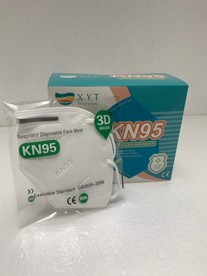 20 Pack  KN95 Masks GB2626-2006 95% FFP2 Filtration (20 Pieces/Box)