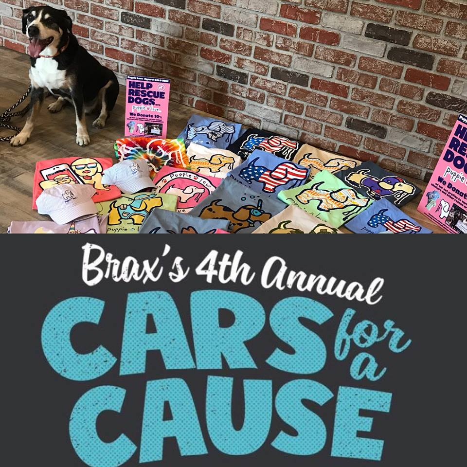 Brax's 4th Annual Cars for a Cause benefiting Anderson County Paws in SC!