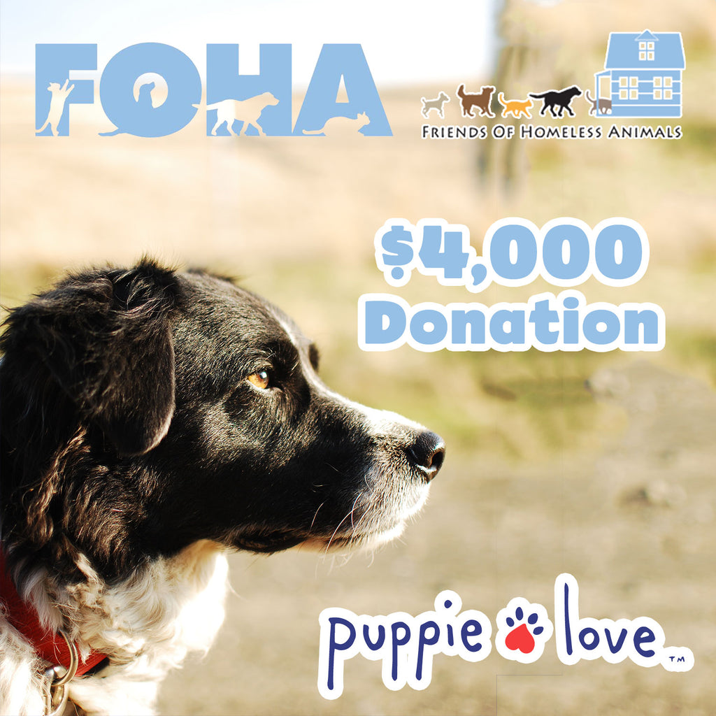 PUPPIE LOVE™ PARTNERS WITH FOHA!