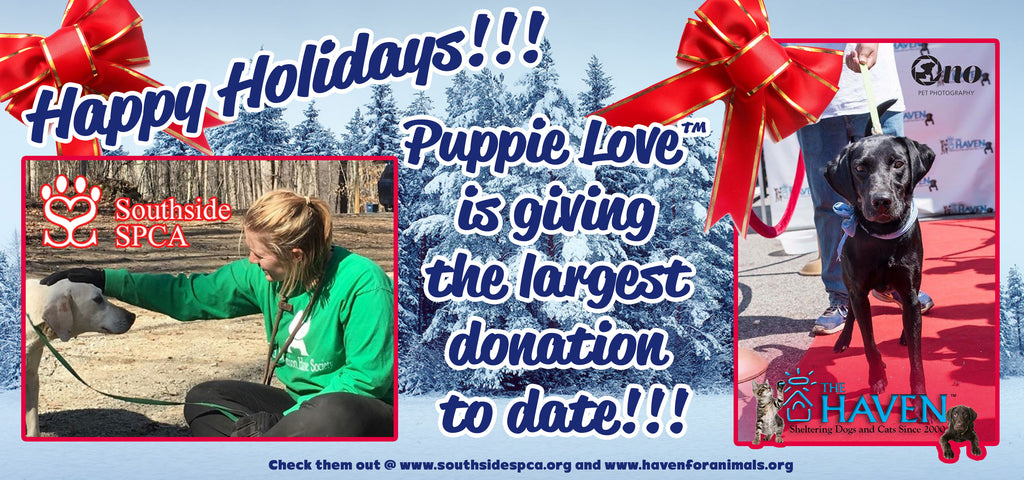 HAPPY HOLIDAYS FROM PUPPIE LOVE
