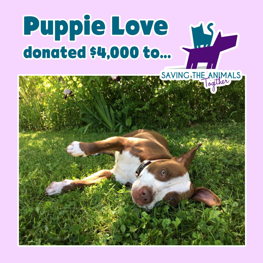 Puppie Love™ and our next group are Saving the Animals Together!