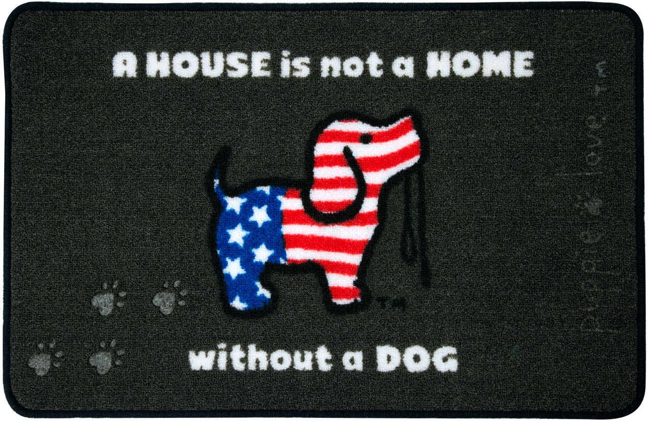 USA PUP FLOOR MAT - Puppie Love