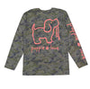 CAMO LOGO PUP, ADULT LS - Puppie Love