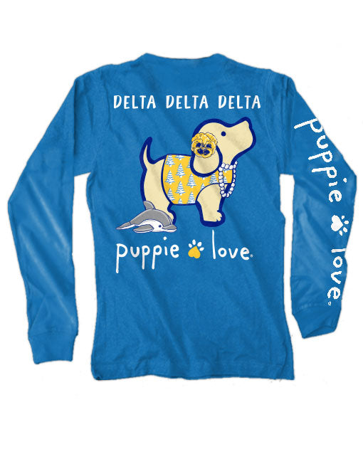 TRI DELTA PUP, ADULT LS - Puppie Love