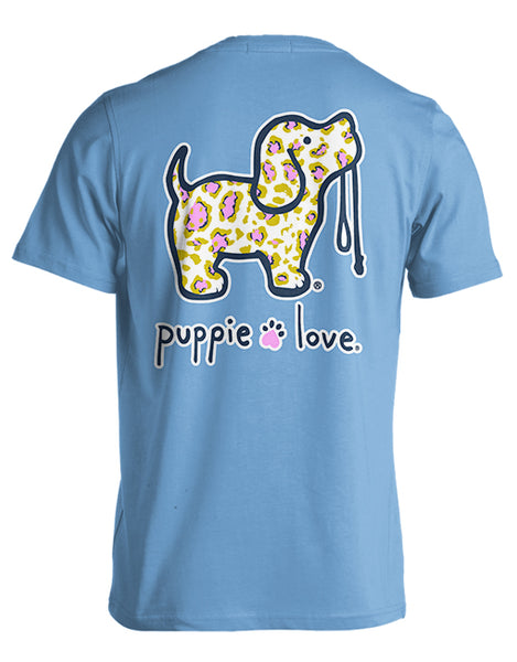 PINK/GOLD LEOPARD PUP - Puppie Love