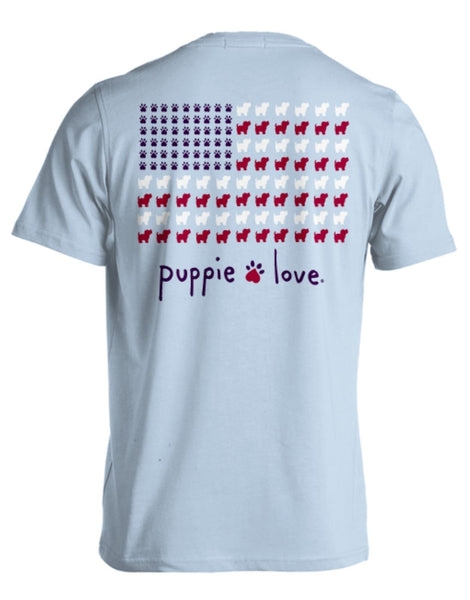 PUPPIE USA FLAG - Puppie Love