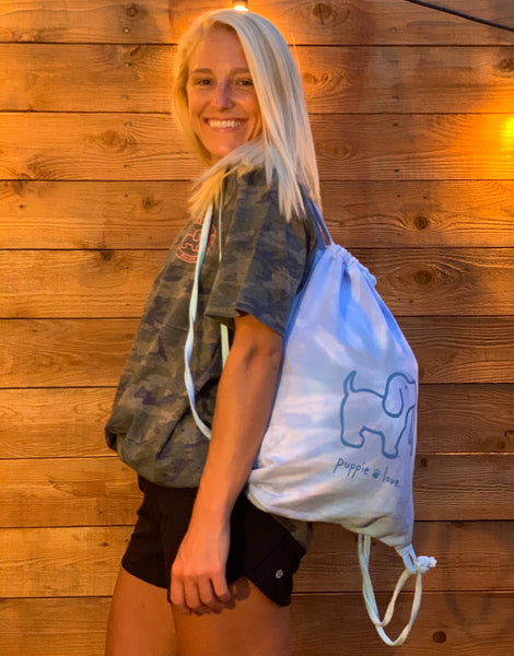 TIE DYE SPORTS BAG, WILDFLOWER - Puppie Love