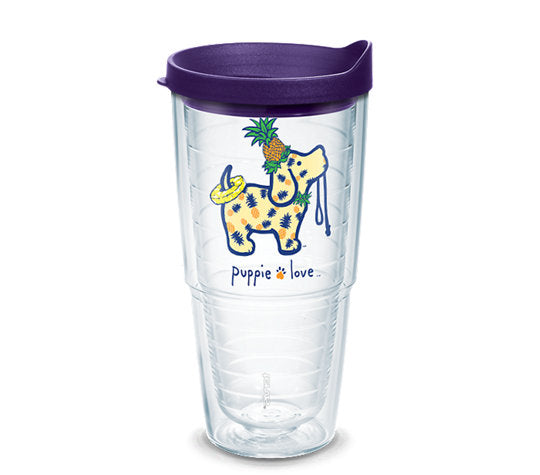 PINEAPPLE PUP 24 OZ TUMBLER - Puppie Love