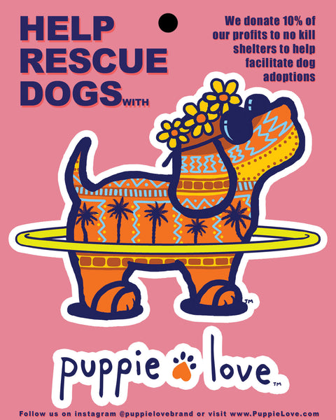PUPAROO STICKER - Puppie Love