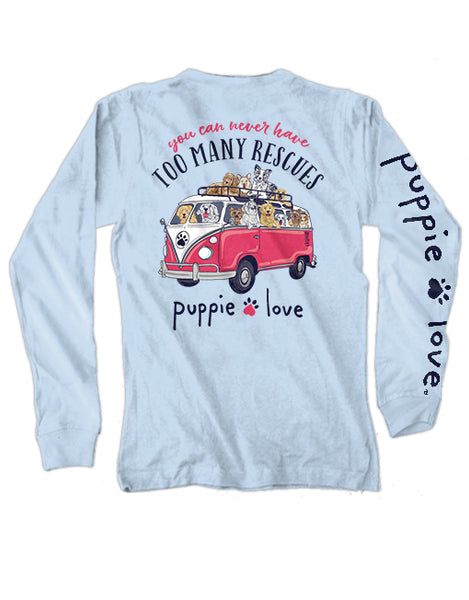 RESCUE BUS, ADULT LS - Puppie Love