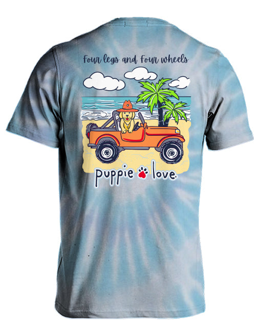 FOUR LEGS AND FOUR WHEELS - Puppie Love