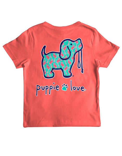 FLAMINGO FILL PUP, YOUTH SS - Puppie Love
