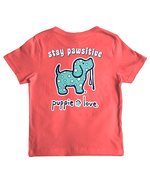 STAY PAWSITIVE, YOUTH SS - Puppie Love