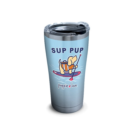 SUP PUP 20oz STAINLESS STEEL TUMBLER - Puppie Love