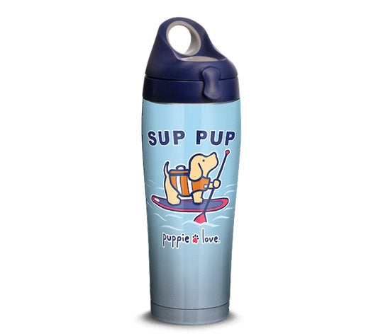 SUP PUP 24oz STAINLESS WATER BOTTLE - Puppie Love