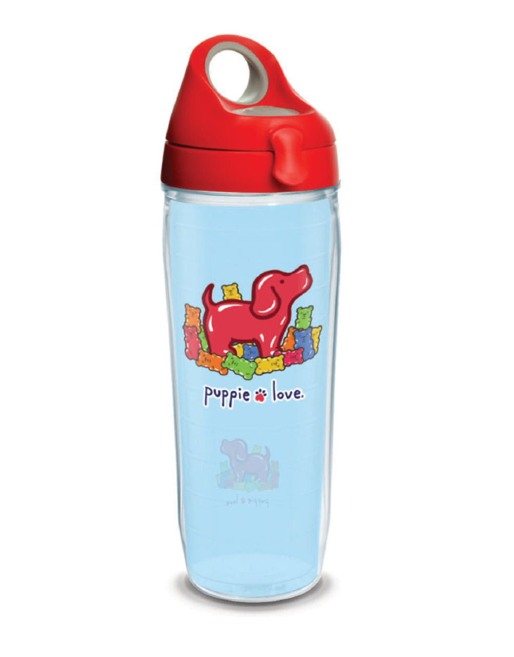 GUMMI PUP 24oz WATER BOTTLE - Puppie Love