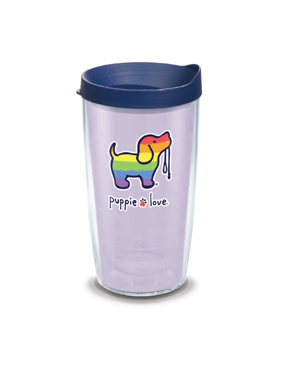 RAINBOW PUP 16oz TUMBLER - Puppie Love