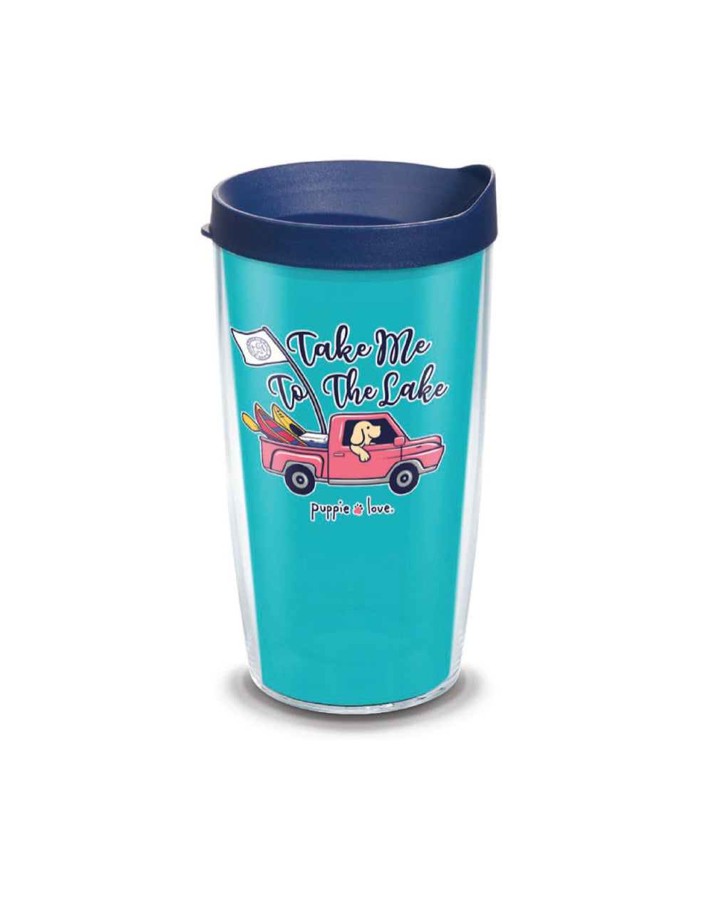 TAKE ME TO THE LAKE 16oz TUMBLER - Puppie Love