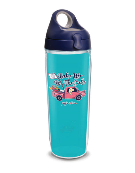 TAKE ME TO THE LAKE 24oz WATER BOTTLE - Puppie Love
