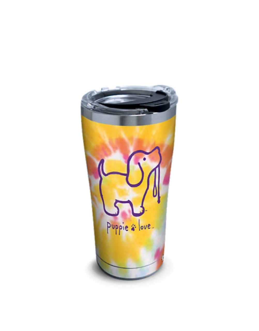 TIE DYE #2 20oz STAINLESS STEEL TUMBLER - Puppie Love