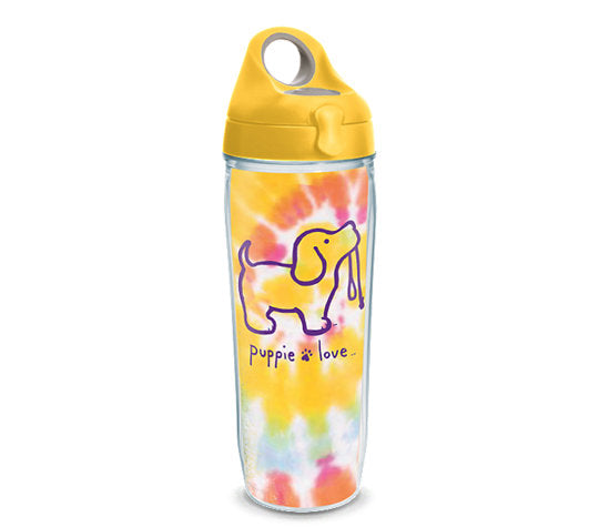 TIE DYE #2 PUP 24oz WATER BOTTLE - Puppie Love