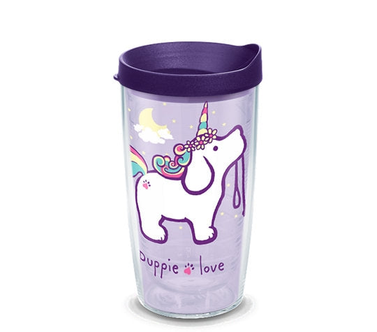 UNICORN PUP 16oz TUMBLER - Puppie Love
