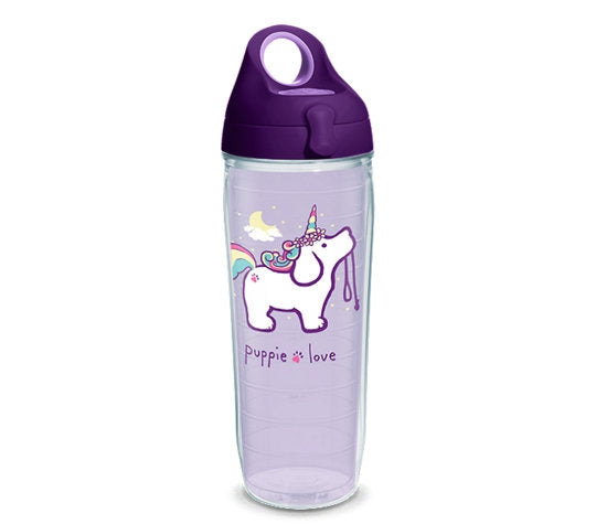 UNICORN PUP 24oz WATER BOTTLE - Puppie Love