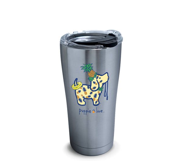 PINEAPPLE PUP 20oz STAINLESS STEEL TUMBLER - Puppie Love