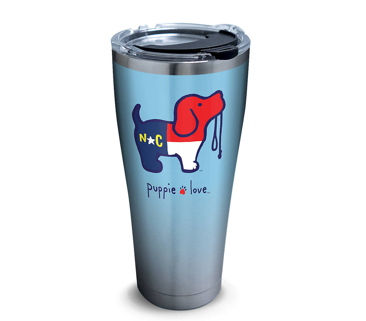 NORTH CAROLINA PUP 30 OZ STAINLESS - Puppie Love