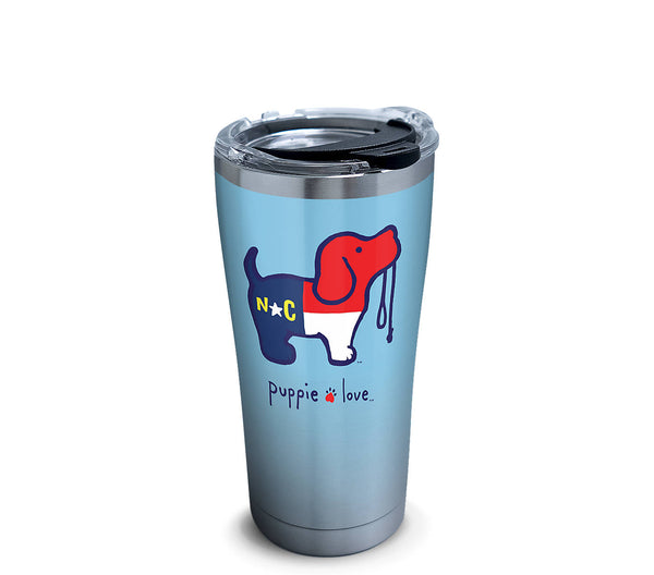 NORTH CAROLINA PUP 20 OZ STAINLESS - Puppie Love