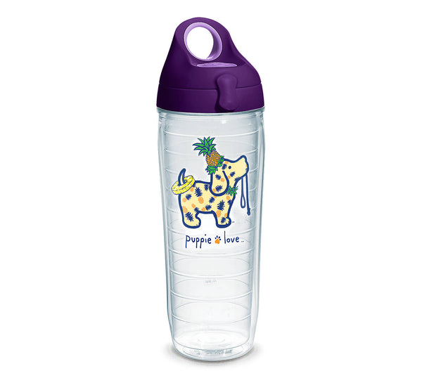 PINEAPPLE PUP WATER BOTTLE - Puppie Love