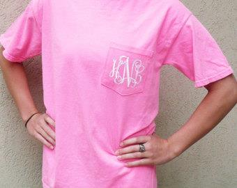 Monogram Comfort Color Tee