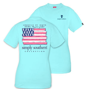 """Southern by the Grace of God"" Short Sleeve Tee Shirt - Simply Southern"