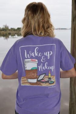 Wake Up & Makeup Tee - Anna Grace