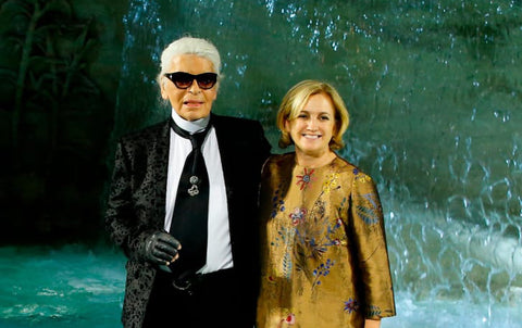 Lagerfeld and Fendi