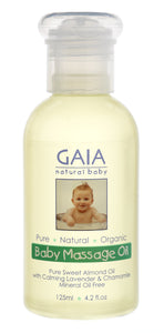 Gaia - Baby Massage Oil - 125ml