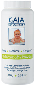 Gaia - Natural Baby Powder - 100g