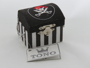 Tono - Pirate Treasure Box https://babystuff.co.nz/products/tono---pirate-treasure-box A treasure box to store all the booty!