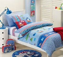 Jiggle & Giggle - Ahoy Pirate Quilt Cover https://babystuff.co.nz/products/jiggle-giggle-ahoy-pirate-quilt-cover This jaunty nautical quilt cover set will have your wee one sailing off to sleep.