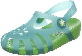 Crocs - Shirley - Aqua and Lime