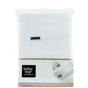 babyfirst - Cot Flannelette Flat Sheet https://babystuff.co.nz/products/babyfirst-cot-flannelette-flat-sheet Large size cot sheet approx 1700 x 1100mm One size fits all Flannelette (brushed cotton) is designed to keep your baby snug and warm Fully machine washable Pure...