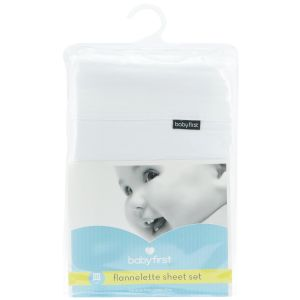 babyfirst -Cot Flannelette Sheet Set https://babystuff.co.nz/products/babyfirst--cot-flannelette-sheet-set This flannelette cot sheet set is made from pure, non-allergic cotton fabric. Flannelette (brushed cotton) is designed to keep your baby snug and warm. Contains...