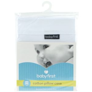 babyfirst - Cot Cotton Pillow Case https://babystuff.co.nz/products/babyfirst-cot-cotton-pillow-case Cot pillow case to fit babyfirst cot pillows, also fits most other standard brands! Made from natural high quality percale cotton.