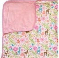 Lily and George - Woodland Tails Cotton Blanket