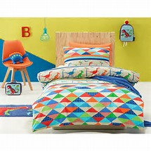 Jiggle & Giggle - Dinoland Quilt Cover https://babystuff.co.nz/products/jiggle-giggle-dinoland-quilt-cover What little boy doesn't like dinosaurs? Perfect for your wee explorers bedroom of adventure. Each set comes with 1 x pillowcase and 1 x quilt cover