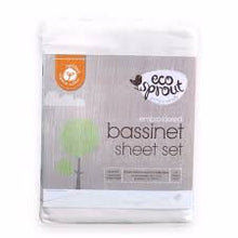 eco-sprout - embroidered bassinet sheet set https://babystuff.co.nz/products/eco-sprout---embroidered-bassinet-sheet-set yum! yum! yum! - gorgeous 375 thread count, certified organic cotton. contains 1 embroidered top sheet 82 x 85 x 15 cm and 1 fitted sheet 45 x 81 x 15 cm fits s...