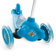 Eurotrike - Twist & Roll Scooter - Blue https://babystuff.co.nz/products/eurotrike-twist-roll-blue Eurotrike's brilliantly innovative new design tri scooter with 'lean to steer' mechanism is the latest addition to the Eurotrike line–up. Super lightweight and perfect for just scootin' along, littlies will love the freedom of their very own first wheels and parents will love the up to the minute design and styling of...