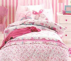 Jiggle & Giggle - Katie https://babystuff.co.nz/products/jiggle-giggle-katie Your little girls dreams will take flight with this duvet cover set by Jiggle & Giggle in soft pastels beautifully adorned with frills and prints. 50/50 polyester cotton percale.