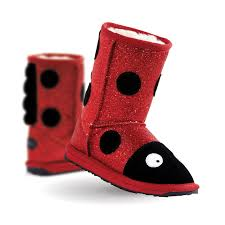 EMU - Little Creatures Walker - Ladybug https://babystuff.co.nz/products/emu-little-creatures-walker-ladybug EMU Little Creatures Merino wool boots are a winner for kids!